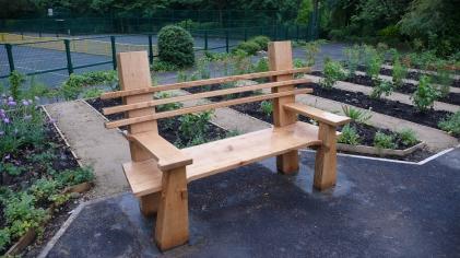 Formal bench