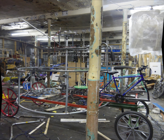 Carriage in progress