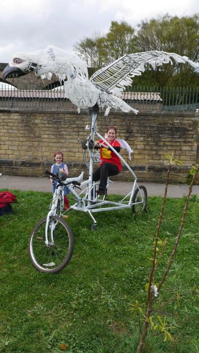 Yorkshire Festival rides the bird