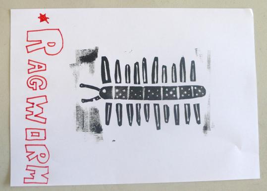 ragworm print